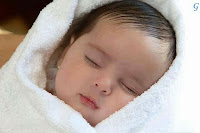 Babies Pictures With White Dress Sleping Kids Photos