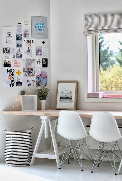 Decoracion Despacho Ikea ~ Como hacerte un despacho n?rdico low cost Decoraci?n  General