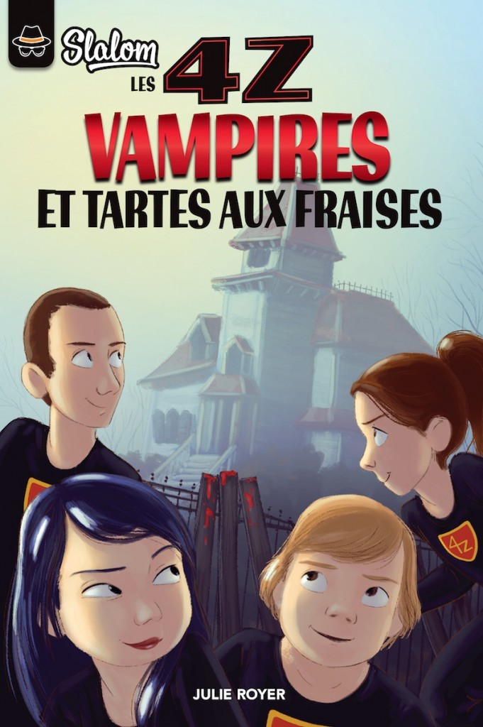 Les 4z: Vampires et tartes aux fraises