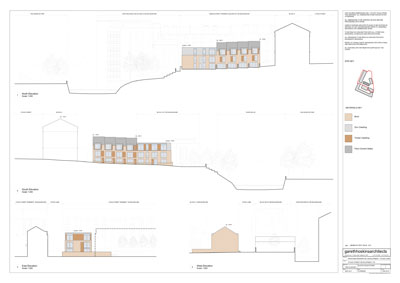 one of the planning application drawings - poor isn't it...but it did the job!