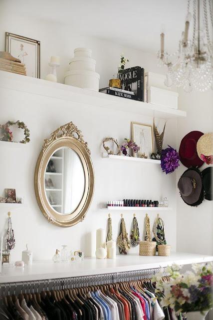 closet para mulheres, closet feminino
