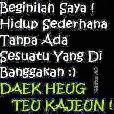 DP BBM Bahasa Sunda Paling Lucu