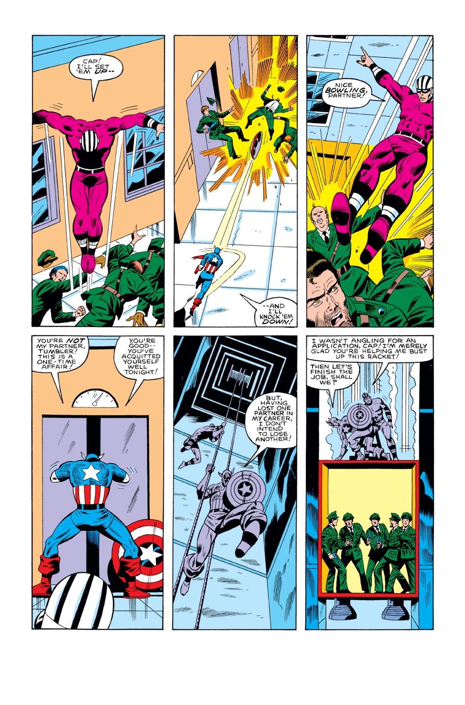 Captain America (1968) Issue #291 #207 - English 22