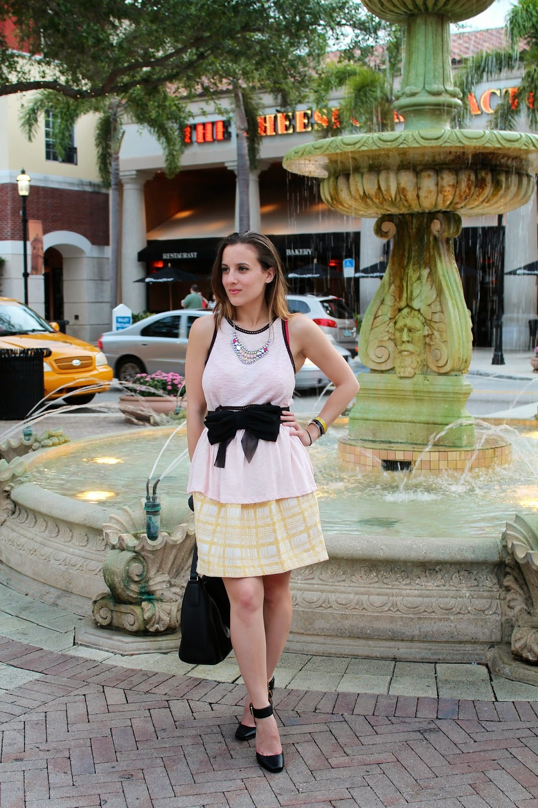 prep, feminine, Kate Spade, ASOS, Express, Nine West, BCBGeneration, Nordstrom, Ray-Ban, Miami, Palm Beach, fashion blogger, street style