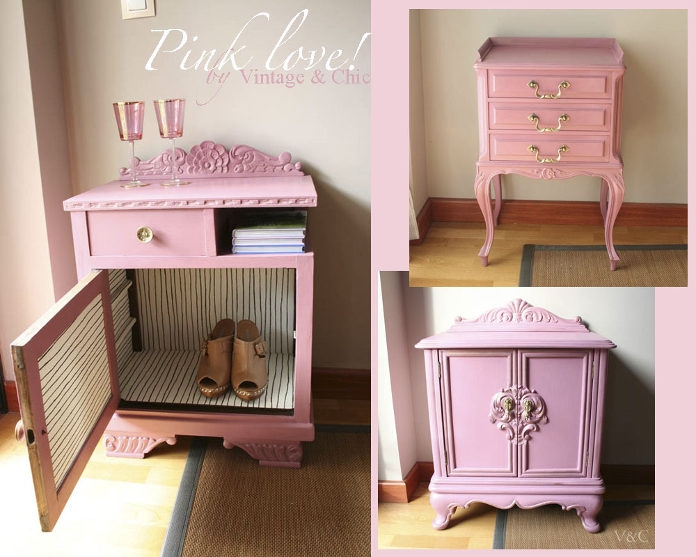 Vintage chic blog decoraci n vintage diy ideas para for Muebles para recamara vintage