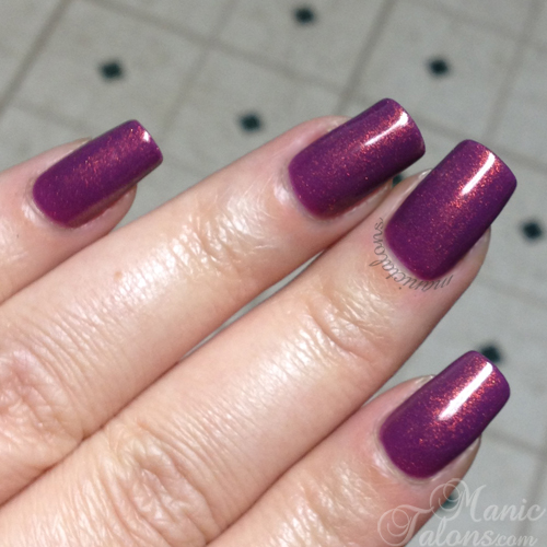 Girly Bits Shift Happens Over a Plum Base