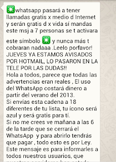Whatsapp de pago