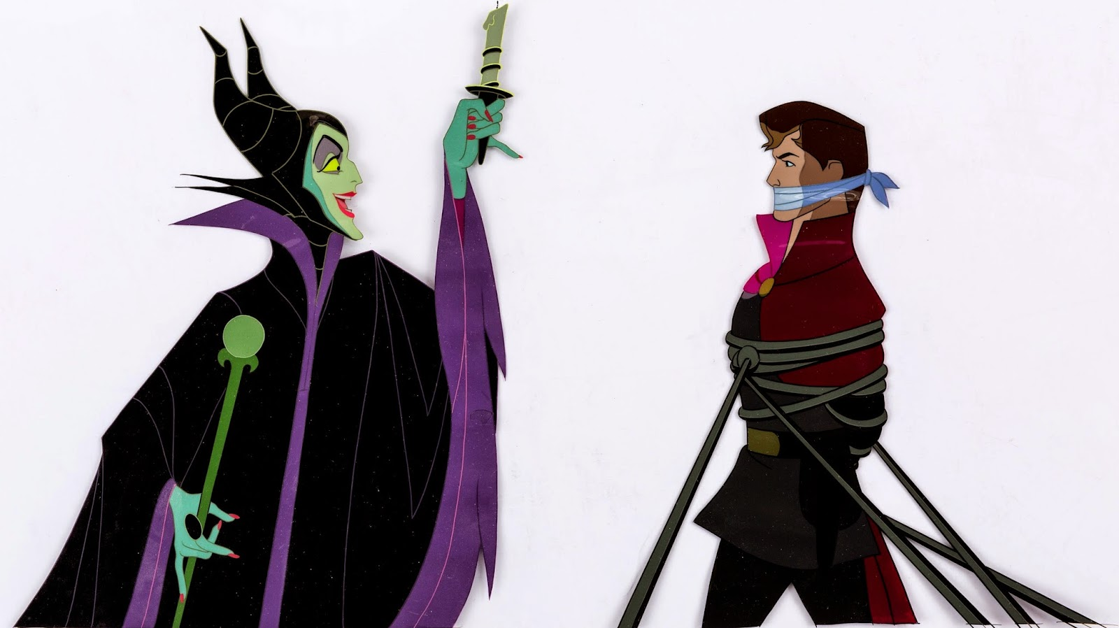 repainted maleficent and prince -#main
