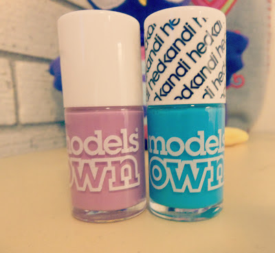 Model's own Baleric cool and lilac dream
