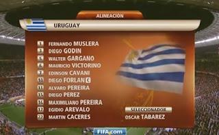 Uruguay, Sudáfrica 2010
