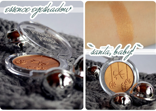 Review essence Happy Holidays LE - Eyeshadow SANTA, BABY