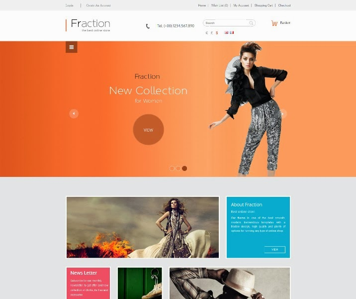 Fraction - Responsive Opencart Theme