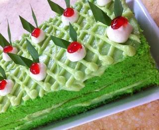 Cake Pandan Suji