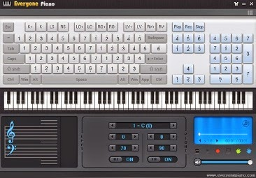 Free Download Software : Everyone Piano 1.5.1.26