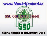 news updates on ssc cgl 2013 tier-2 result
