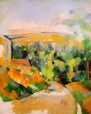 Revolt a la carretera (Paul Cézanne)