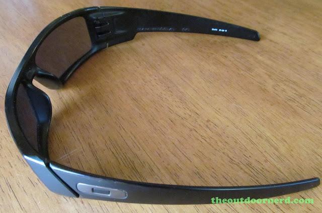 Oakley GasCan Sunglasses: Side View