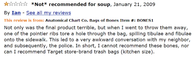 Funny Amazon Review by Ian