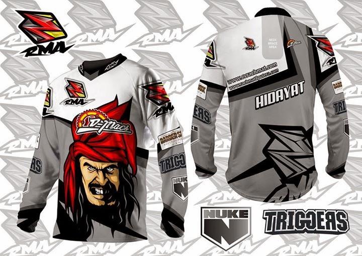 Jasa Pembuatan Jersey Motocross - Sample 32