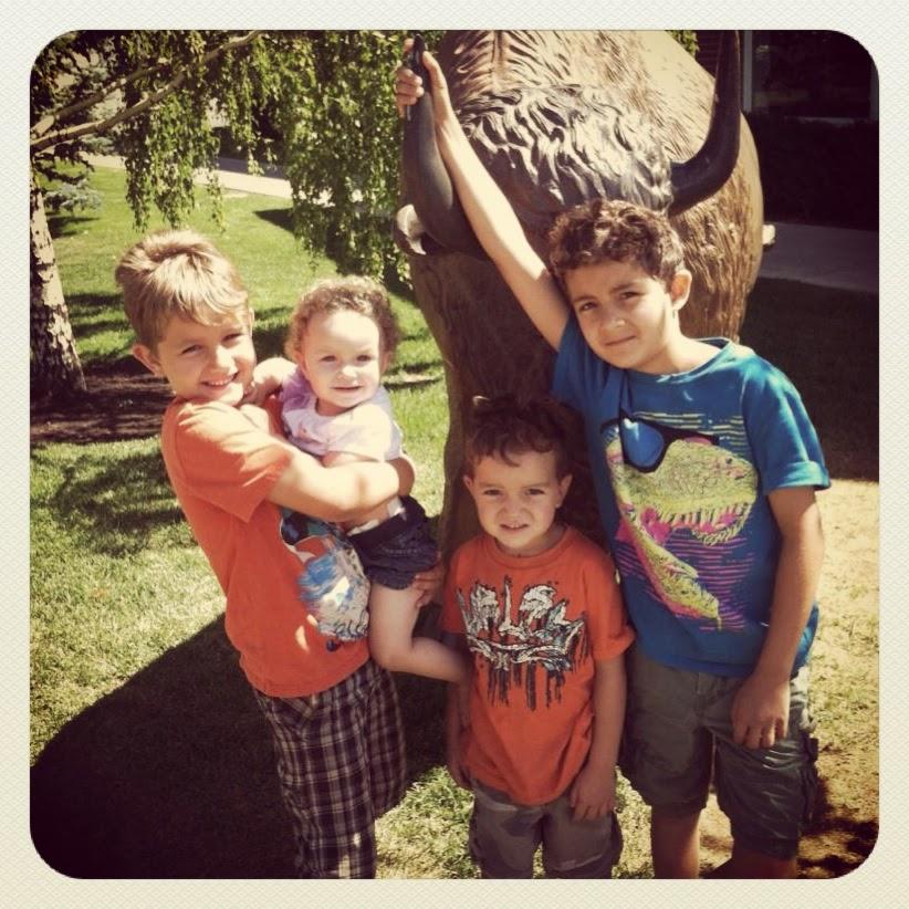 Daniel, Violet, Elias, & Josiah