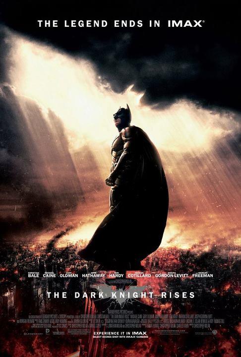 Cartel IMAX para Batman: Dark Knight Rises