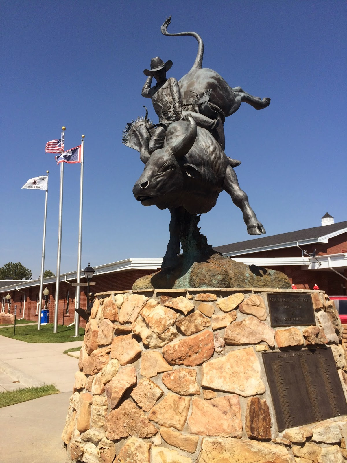 Lane Frost Memorial Statue