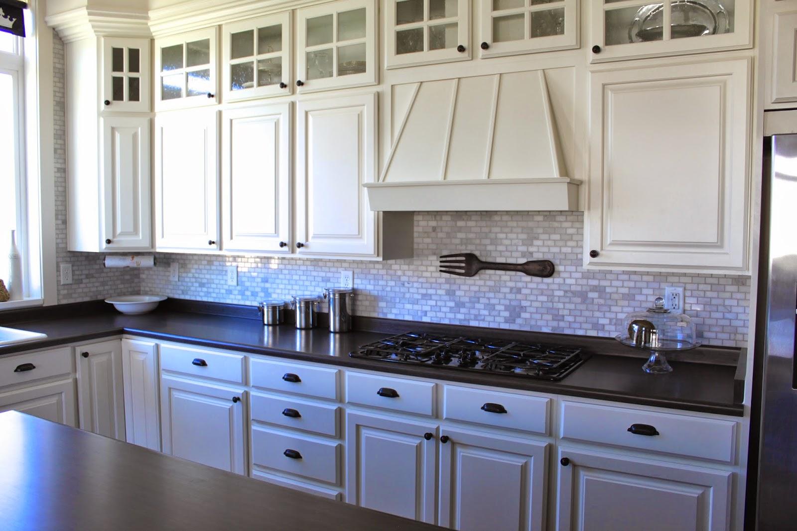 Amy S Casablanca Kitchen Update Marble Mosaic Backsplash