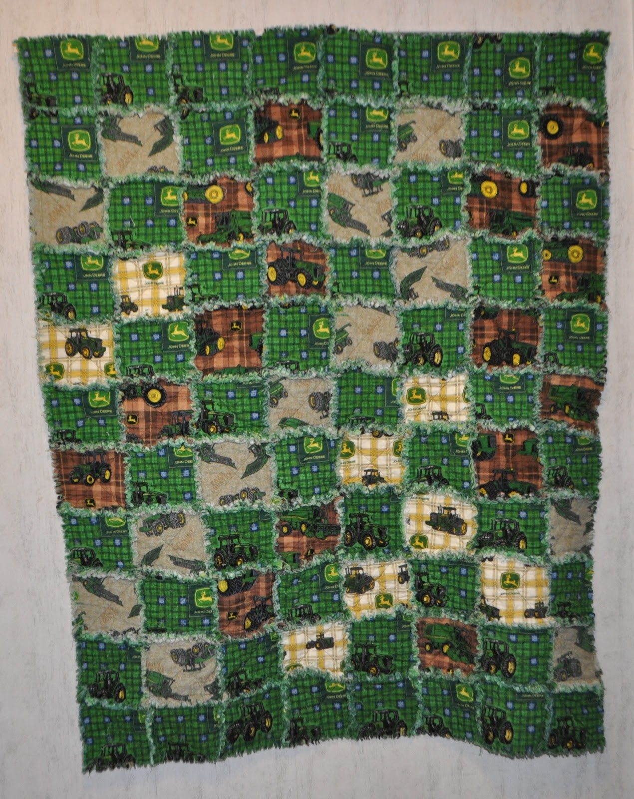 Richard And Tanya Quilts John Deere Baby Quilt