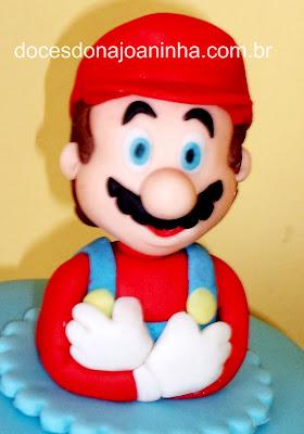 Super Mario bolo decorado