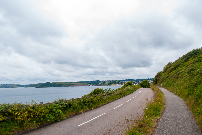 Image of SW Coastal path in Falmouth, conrwall, England