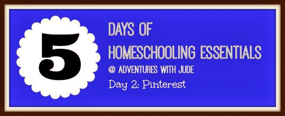 Pinterest - a homeschooling essential
