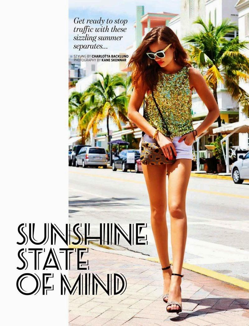 Yara - Cosmopolitan,  Australia, February 2015