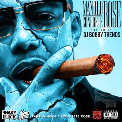 MANOLO ROSE - CONCRETE ROSE mixtape cover