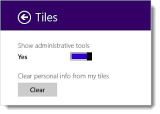 Hiển thị các administrative tools lên màn hình Start của Windows 8 Window8tool2