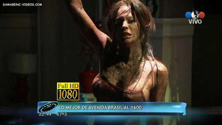 Noelia Marzol hard nipples in a wet t-shirt full HD video