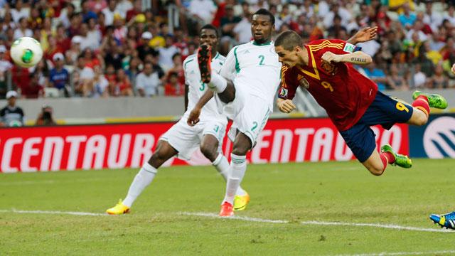 Copa Confederaciones 2013 - Spain vs Nigeria