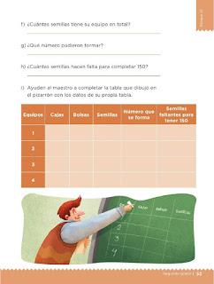 Apoyo Primaria Desafíos Matemáticos 2do Grado Bloque 2 Lección 26 Las semillas