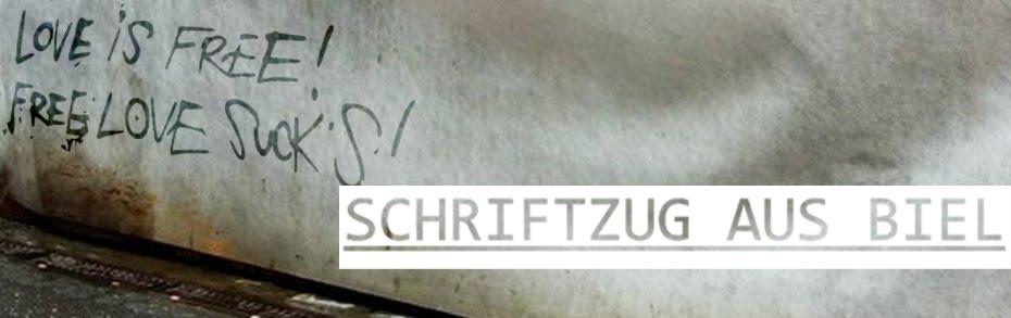 SCHRIFTZUG aus Biel