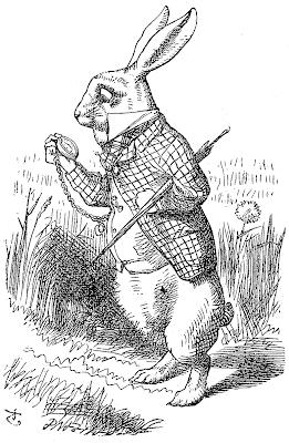 Alice in wonderland White Rabbit Clip Art