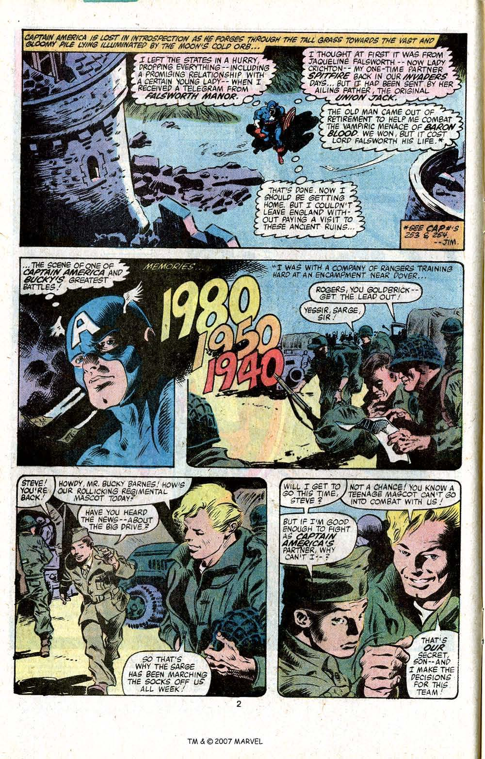 Captain America (1968) Issue #256 #171 - English 4