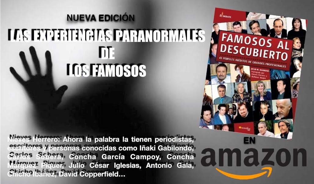 PINCHA Y ADQUIERELO POR 8,99€ EN AMAZON LAS EXPERIENCIAS PARANORMALES DE ESTOS FAMOSOS