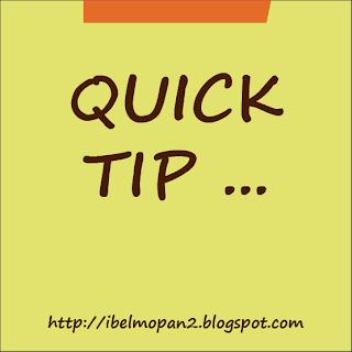 quick tip belize