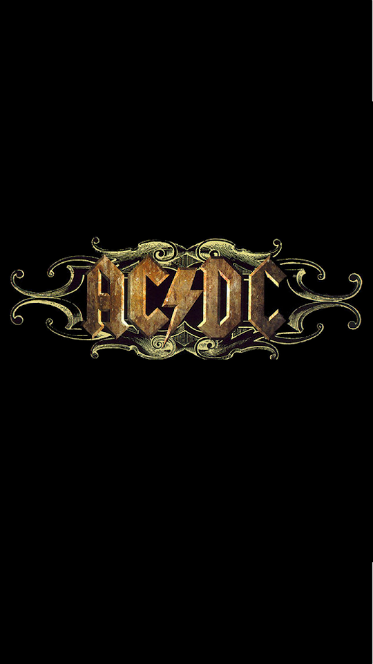 ACDC Rock Band Logo  Galaxy Note HD Wallpaper