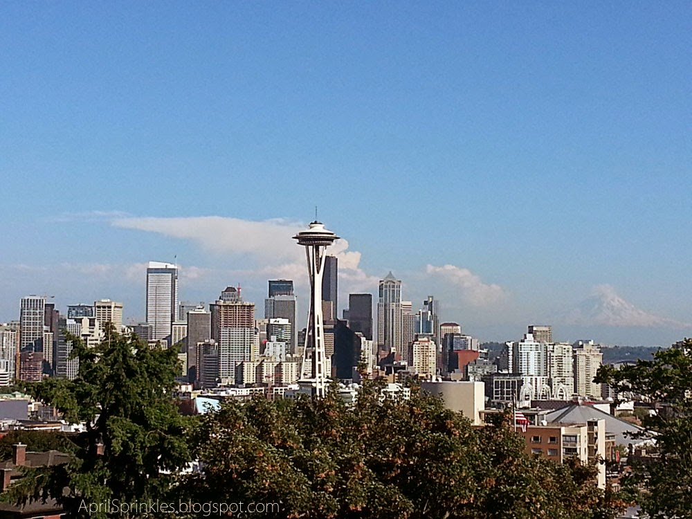 Kerry Park Seattle Skyline by KB Photography on April Sprinkles