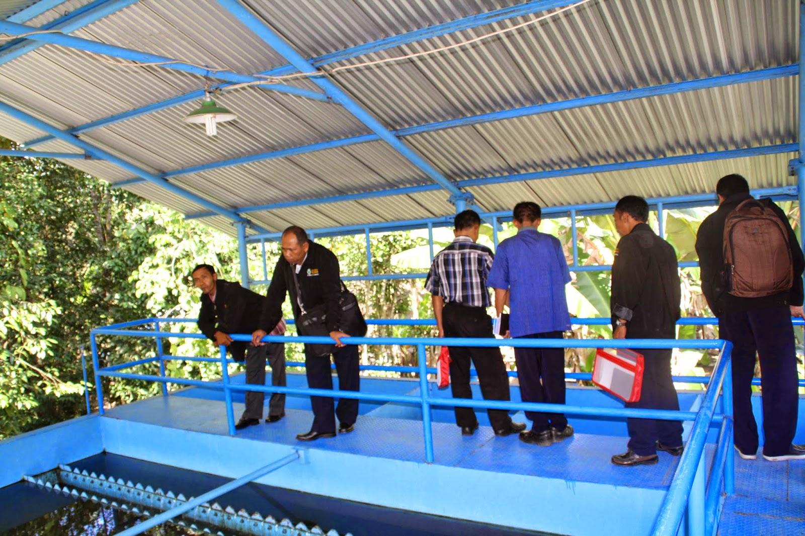Pelatihan teknologi Pengelolahan Air Baku dan Air Bersih