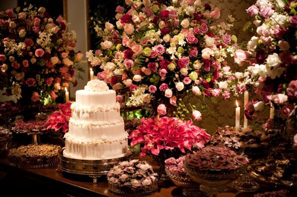 Hot Pink em casamentos… » Espaço De La Cruz