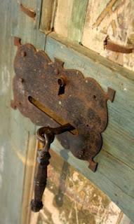 Rusty decor. Decoração enferrujada