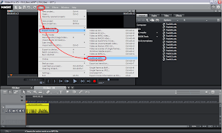 Export Video as Audio MP3 - Magix Video Pro X