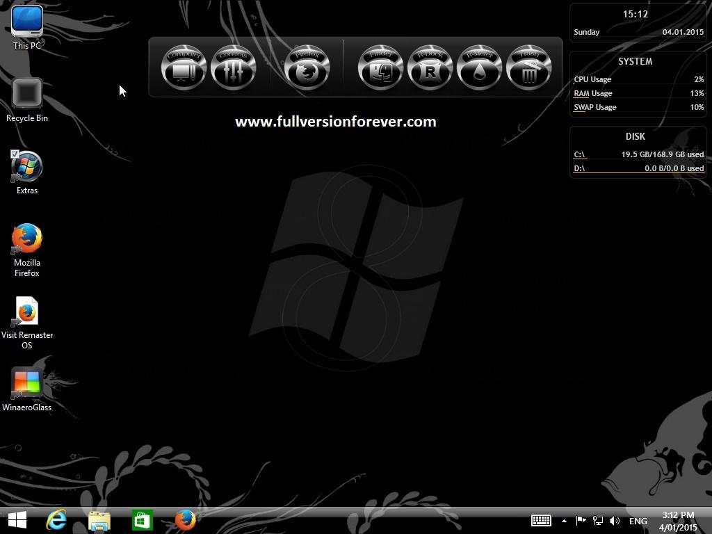 Windows 8.1 Pro Black Edition free download iso