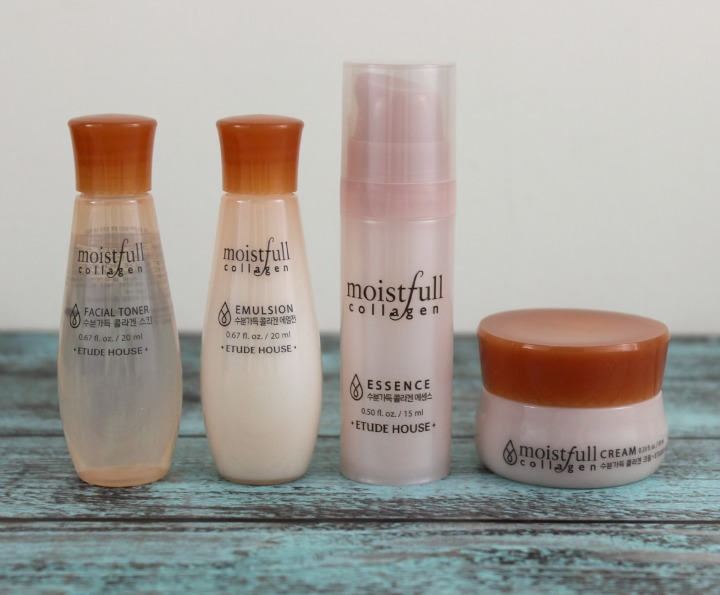 ETUDE HOUSE COLLAGEN MOISTFULL SKINCARE
